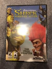Shrek: Forever After -- The Final Chapter (PC, 2010) GAME, Not The Movie!