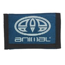 ANIMAL MENS WALLET.MOLOKAI NAVY TRIFOLD MONEY NOTE CREDIT CARD COIN PURSE W20 3