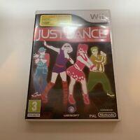Nintendo Wii - Just Dance - Complete - Free UK Postage