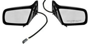 1987-1993 Mustang Coupe & Hatchback LH RH Side Power Outside Mirrors - Pair