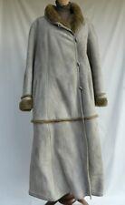 Emme ® - pelliccia cappotto scamosciato in renna - 100% made in Italy