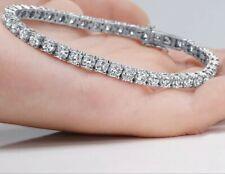 Stunning 6.00 CTW E VS2 100% Natural Diamonds 14k Solid Gold Tennis Bracelet