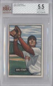1951 Bowman Bob Usher #286 BVG 5.5 Rookie
