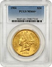 1904 $20 PCGS MS64+ Liberty Double Eagle - Gold Coin