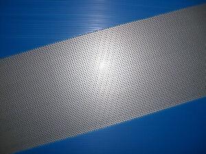 BUCHERT Edelstahl-Lochblech-Rv 2-3,5 VA-1,5mm -Größe-Maß-Zuschnitt-Versand frei!
