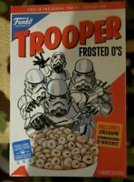 Exclusive Funko Star Wars Trooper O's Cereal Box T Shirt Size X Large MIB