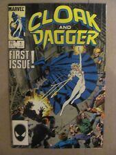 Cloak and Dagger #1 Marvel Comics 1985 Series 9.2 Near Mint-