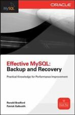Effective MySql: Backup and Recover VeryGood