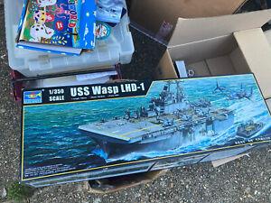 TRU05611 - Trumpeter 1:350 - USS Wasp LHD-1 Assault Carrier
