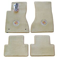 NEW 2006 2007 Cadillac DTS Light Shale Floor Mats with Crest Logos