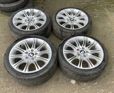 "MV2 18"" Set of Alloy Wheels M Double Spoke 135 - BMW 3 Series E46 E90 E91"