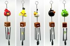 LOT OF 5 Angry Birds Wind Chimes By Rovio Entertainment LTD. Decorative NEW