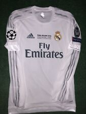 BALE REAL MADRID MATCH PREPARED SHIRT FINAL CL. Milano 2016
