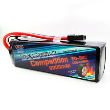 Lipo World TRAXXAS TUNING Akku 3S 11,1V 9000mAh 50C-80C 2878 Slash VXL 4X4 8400