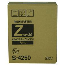Risograph S-4250 Ez220/rz220 Masters [2 Rolls/ctn] (s4250)