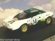 Diecast 1/43 Alitalia Lancia Stratos HF #14 Winner Rallye Monte Carlo Rally 1975