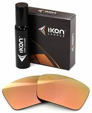 Polarized Ikon Replacement Lenses for Dragon Fame Sunglasses Rose Gold Mirror