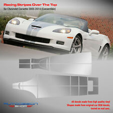 Chevrolet Corvette 2005 - 2014 Racing Stripes Over The Top