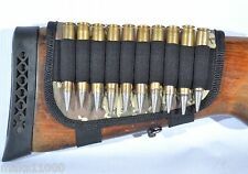 TACTICAL and HUNTING  Buttstock cartridge holder for 10 PCS  shells 7.62 308 Win