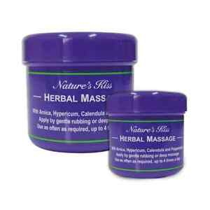 Nature's Kiss Herbal Massage (90g & 450g Tubs)