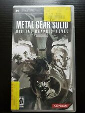 Metal Gear Solid Digital Graphic Novel   A Rare Game For Any Collector To Snag!
