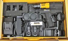 Rems batería ex Press cu 22v nº 575020 ensanchadores de tubos expansor ensanchador ensanchamiento