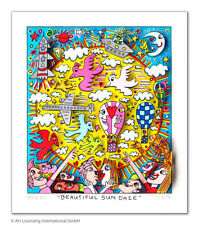 "Neues Motiv  James Rizzi 3 D Arbeit "" Beautiful sun daze"" original Zertifikat"