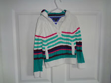 Toddler Girls - Tommy Hilfiger - Multi-Colored Hooded Sweater - Size 4T