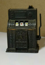 Golden Eagle Pencil Sharpener Slot Machine Works VIntage Casino School Supply