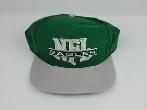 Vintage 1990's NFL Philadelphia Eagles Nutmeg Mills snapback hat Super Clean