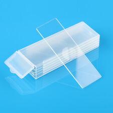5pcs Reusable Laboratorial Single Concave Microscope Blank Glass Slides