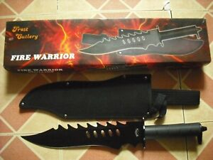 NEW IN BOX FROST CUTLERY FIRE WARRIOR BOWIE KNIFE WITH SHEATH