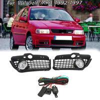 Stoßstangengitter Nebelscheinwerfer Grill Für VW Golf MK3 1992-1997 DE