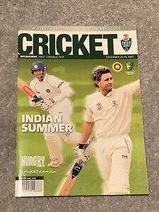 Australia v India Official Souvenir Programme Boxing Day 2007
