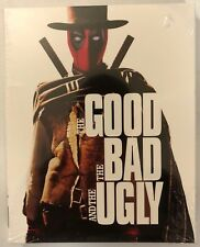 NEW THE GOOD THE BAD AND THE UGLY BLU RAY WALMART EXCLUSIVE DEADPOOL SLIPCOVER
