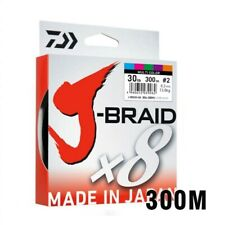 Braided Fishing Line Length: 300m/330yds Japan Pe 8 Braided Line J-braid Line