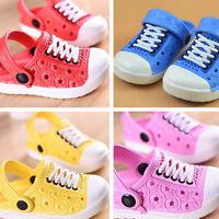 ALS_ Kids Boy Girl Sandals Children Fashion Beach Slippers Breathable Shoes Conv