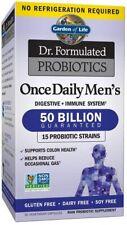 Jardín de la vida Dr. formulado probióticos una vez al día para hombre - 30 Vcaps