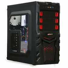 Pro Gaming Computer PC AMD quad core  X4 1050 AM4 GTX 1050 8GB 1TB Win 10 NEW!
