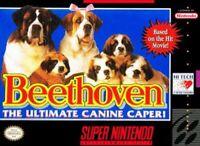 Beethoven's 2Nd - SNES Super Nintendo Game