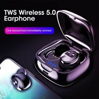 Bluetooth 5.0 Headset TWS Wireless Earphones Mini Earbuds HiFi Stereo Headphones