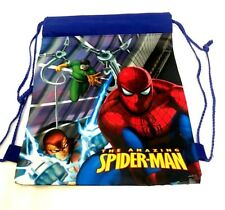 Kids Character Swim Bag, Gym Bag, Pump Bag, Sports SPIDER MAN Boys OR Girls