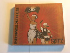 Skitz - Sticksman 2CD UK hip-hop album including remix disc (SEALED)