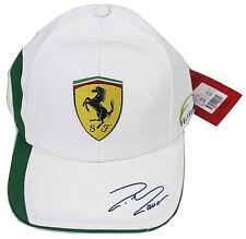 Ferrari basecap 560219 01, Felipe Massa, brandon cap con gorra blanco-verde New