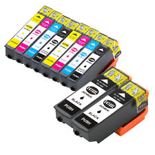 10PK non-OEM Ink Cartridges for Epson XP-530 XP-630 XP-635 XP-640 w/ Ink Level