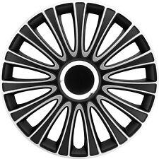BMW Satz original 4x Monza Radzierblenden Radabdeckungen 4er Set 17 Zoll schwarz