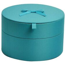 Xhilaration Decorative Storage Jewelry Box Container Turquoise Blue