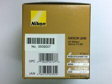 Nikon AF Nikkor 50mm f/1.8D Lens AF 50 mm f/1.8 D 1.8