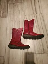 Fly London Mes 2 Brick Red Boot
