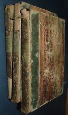 Chants et Chansons Populaire de La France Delloye 3 Vols Illus 1st ed 1843